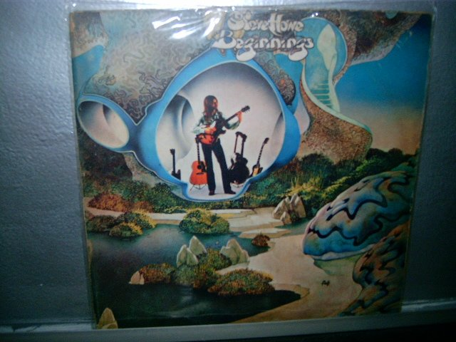 STEVE HOWE beginnings LP 1976 ROCK MUITO RARO VINIL