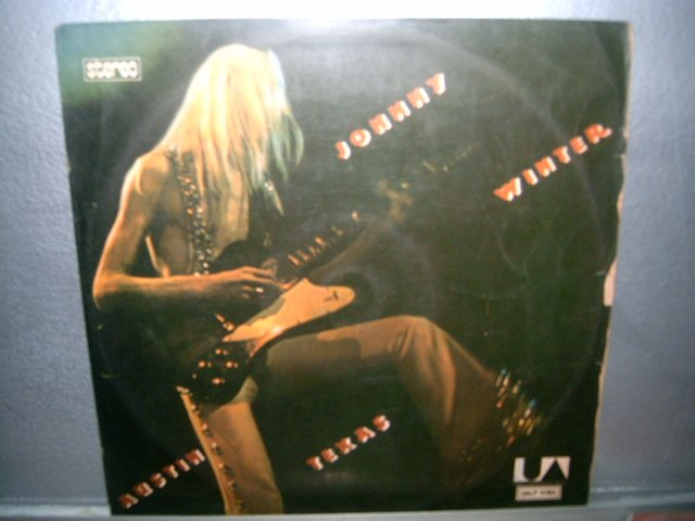 JOHNNY WINTER austin texas LP 1973 ROCK MUITO RARO VINIL
