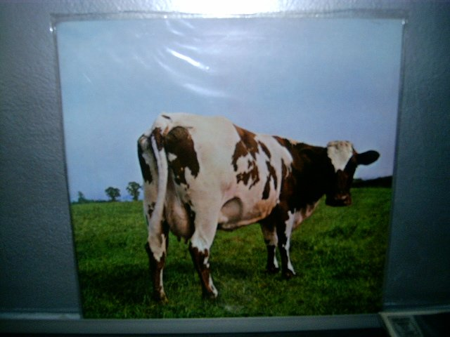 PINK FLOYD atom heart mother LP 1972 ROCK SEMI NOVO MUITO RARO VINIL