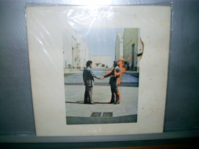 PINK FLOYD wish you were here  LP 1975 ROCK SEMI NOVO BLUE  VINIL