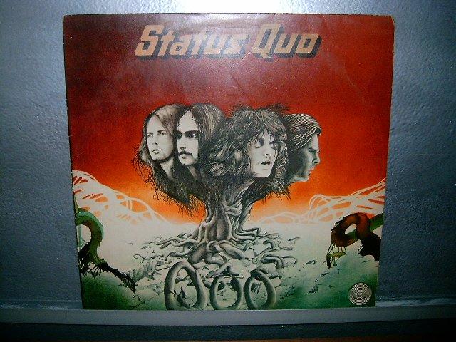 STATUS QUO status quo LP 1974 ROCK EXCELENTE MUITO RARO VINIL