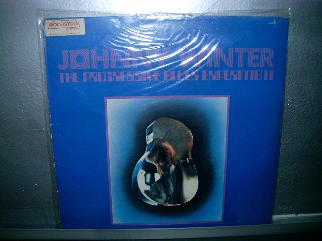 JOHNNY WINTER the progressive blues experiment LP 1969 ROCK SEMI NOVO MUITO RARO VINIL