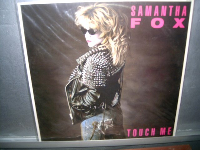SAMANTHA FOX touch me LP 1988 ROCK MUITO RARO VINIL