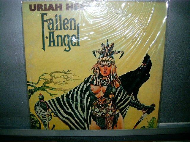URIAH HEEP Fallen Angel LP 1978 NM GATEFOLD SN CAPA DUPLA