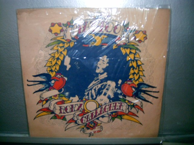 RORY GALLAGHER tatoo LP 1974 ROCK MUITO RARO VINIL