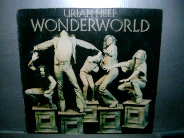 URIAH HEEP wonderworld LP 1983 ROCK MUITO RARO VINIL