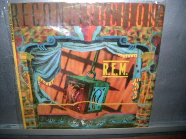 REM reconstruction LP 1985 ROCK EXCELENTE MUITO RARO VINIL