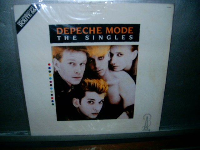 DEPECHE MODE the singles LP MUITO RARO VINIL