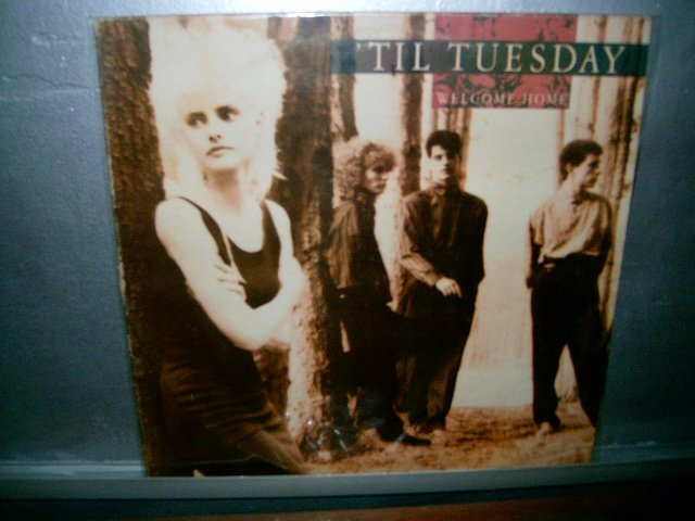 TIL TUESDAY welcome home LP 1986 ROCK EXCELENTE MUITO RARO VINIL