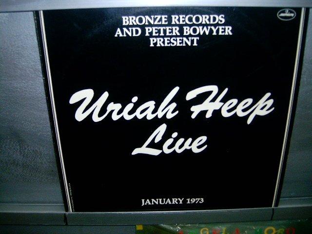 URIAH HEEP uriah heep live LP 1973 IMPORTADO SEMI-NOVO MUITO RARO