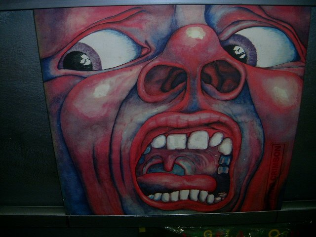 KING CRIMSON in the court of the crimson king LP 1969 IMPORTADO SEMI-NOVO MUITO RARO