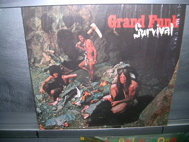 GRAND FUNK RAILROAD survival LP 1969 ROCK*