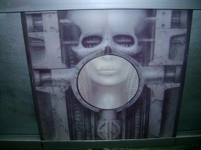 EMERSON,LAKE & PALMER brain salad surgery LP 1973 IMPORTADO SEMI-NOVO MUITO RARO