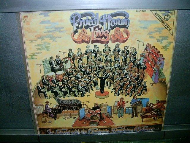 PROCOL HARUM edmotion symphony orchestra LP 1972 PROGRESSIVE ROCK**