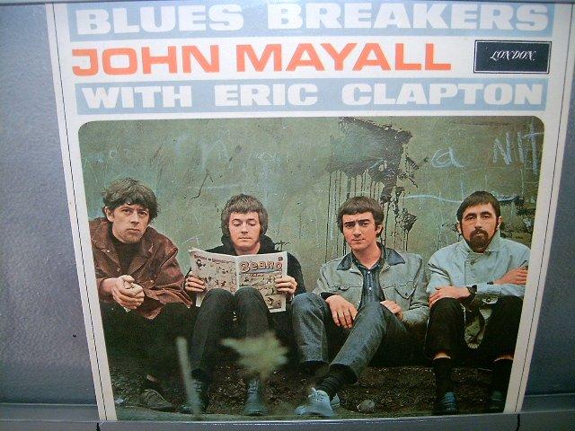 JOHN MAYALL WITH ERIC CLAPTON blues breakers  LP 1973 IMPORTADO SEMI-NOVO MUITO RARO