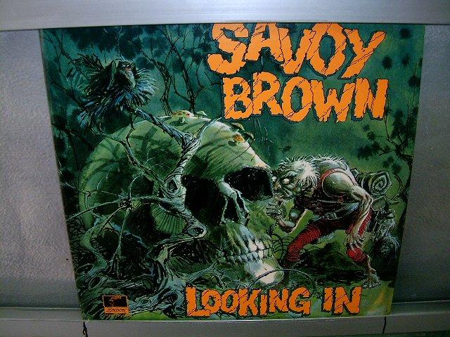 SAVOY BROWN looking in LP 1970 IMPORTADO SEMI-NOVO MUITO RARO