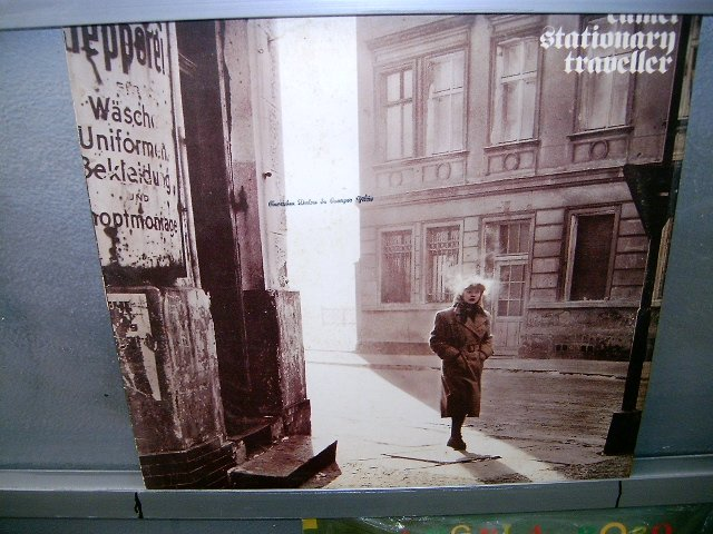 CAMEL stationary traveller LP 1984 ROCK  EXCELENTE MUITO RARO VINIL