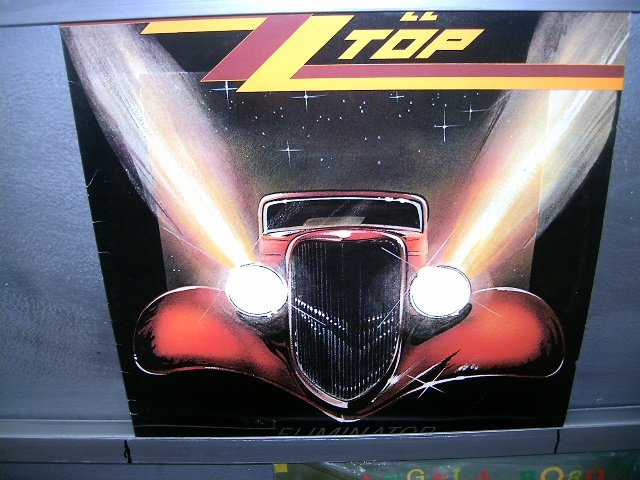 ZZ TOP eliminator LP 1983 ROCK  EXCELENTE MUITO RARO VINIL