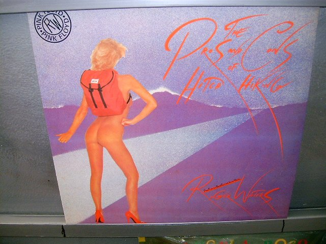 ROGER WATERS the pros and cons of hitch hiking LP 1984 ROCK MUITO RARO VINIL