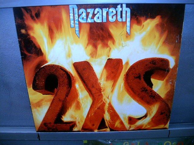 NAZARETH 2X5 LP 1982 ROCK MUITO RARO VINIL