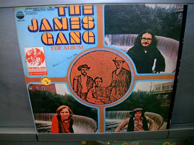 THE JAMES GANG yer album LP 1971 ROCK MUITO RARO VINIL