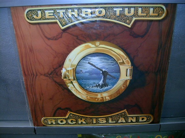 JETHRO TULL rock island LP 1989 ROCK EXCELENTE MUITO RARO VINIL