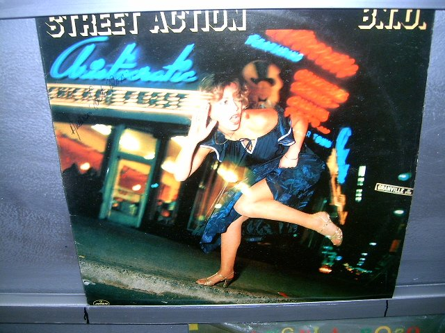 BACHMAN TURNER OVERDRIVE street action LP 1978 ROCK**