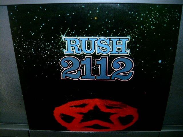 RUSH 2112 LP 1976 ROCK EXCELENTE MUITO RARO VINIL