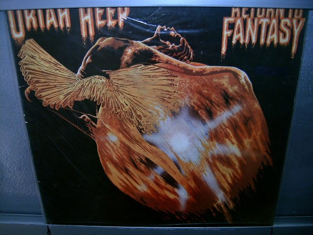 URIAH HEEP return to fantasy LP 1975 ROCK EXCELENTE MUITO RARO VINIL
