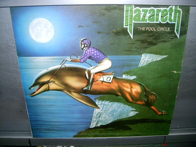 NAZARETH the fool circle LP 1981 ROCK EXCELENTE MUITO RARO VINIL