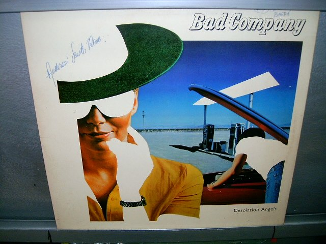 BAD COMPANY desolation angels LP 1979 ROCK*