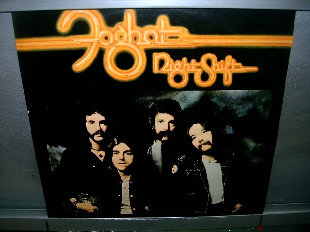 FOGHAT night shift LP 1977 ROCK EXCELENTE MUITO RARO VINIL