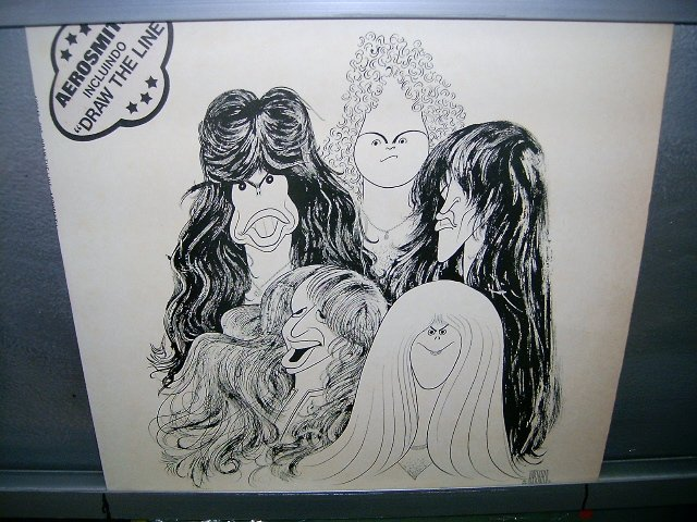 AEROSMITH draw the line LP 1978 ROCK SEMI-NOVO MUITO RARO VINIL