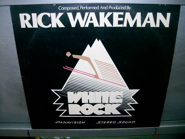 RICK WAKEMAN white rock LP 1977 ROCK*