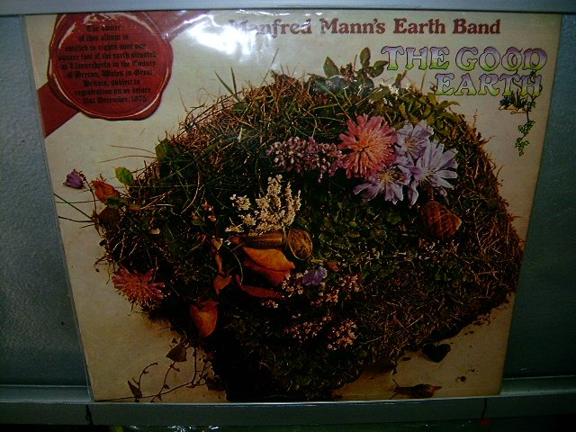 MANFRED MANN'S EARTH BAND the good earth LP 1974 ROCK EXCELENTE MUITO RARO VINIL