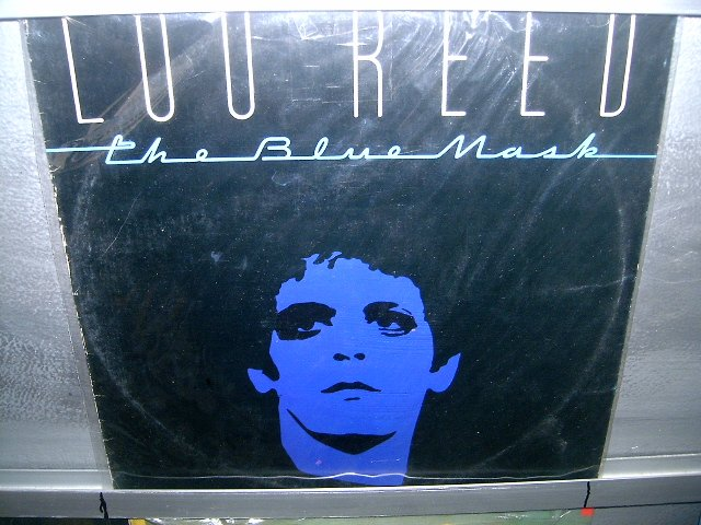 LOU REED the blue mask LP 1982 ROCK SEMI-NOVO MUITO RARO VINIL