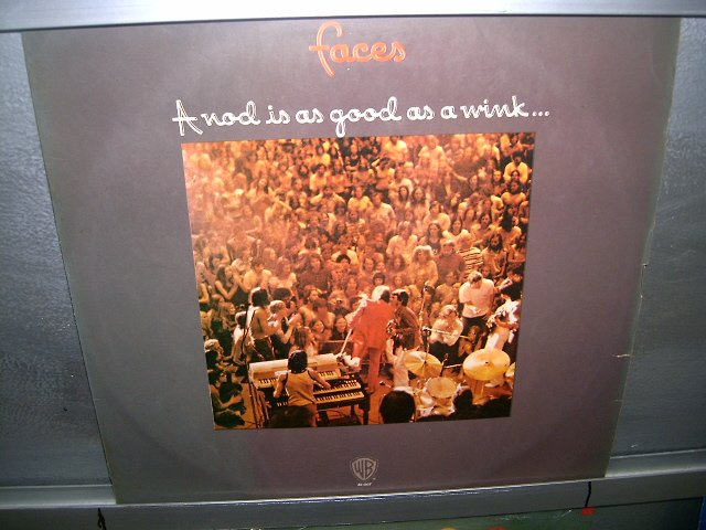 FACES a nod is as good as a wink...to a blind horse LP 1972 ROCK EXCELENTE MUITO RARO VINIL