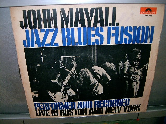 JOHN MAYALL jazz blues fusion LP 1972 ROCK MUITO RARO VINIL