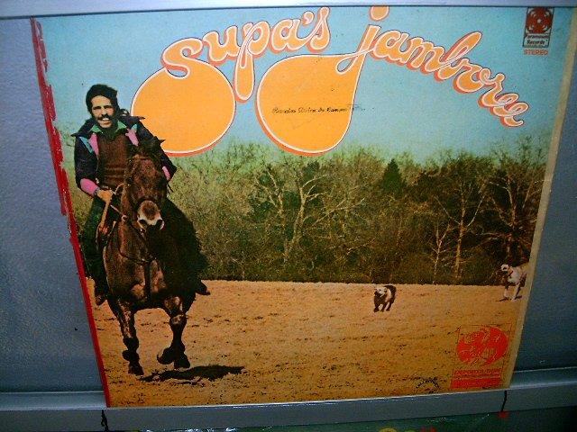 SUPA'S JAMBOREE supa LP 1971 ROCK MUITO RARO VINIL