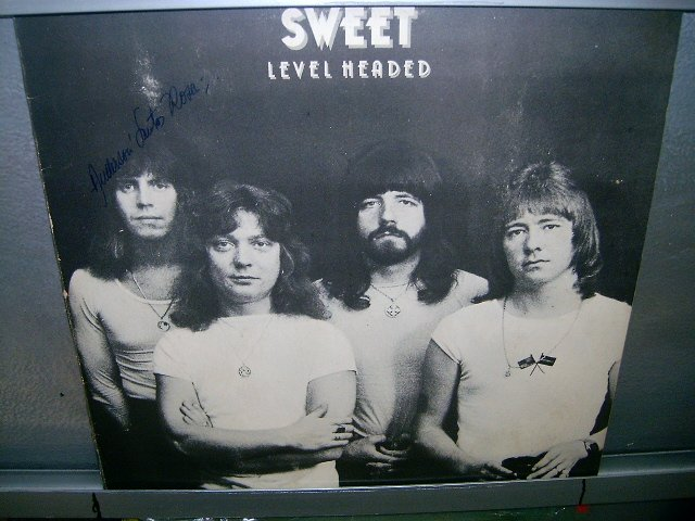 SWEET level headed LP 1978 ROCK**