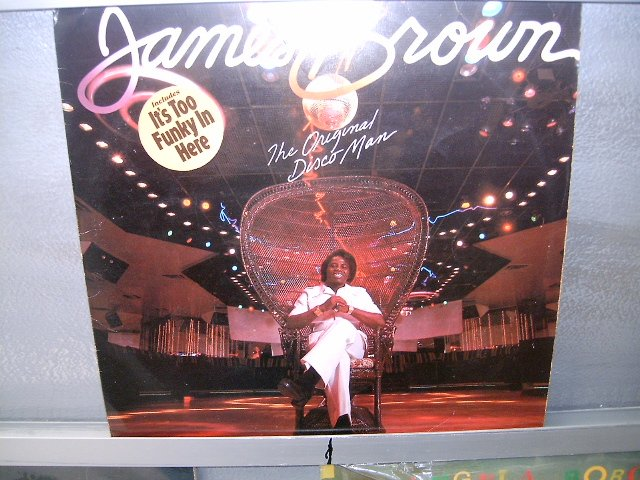 JAMES BROWN the original disco man LP 1979 SOUL EXCELENTE MUITO RARO VINIL