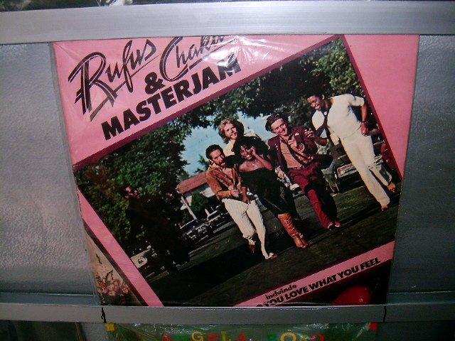 RUFUS AND CHAKA KAN Masterjam LP 1979 SOUL MUSIC MUITO RARO VINIL