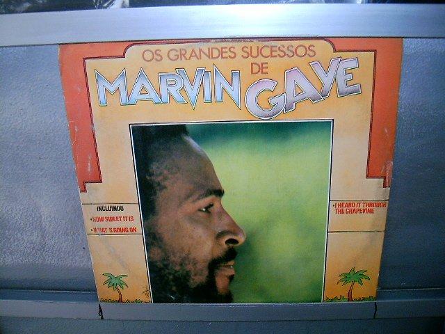 MARVIN GAYE os grande sucessos LP 1976 SOUL MUSIC EXCELENTE MUITO RARO VINIL