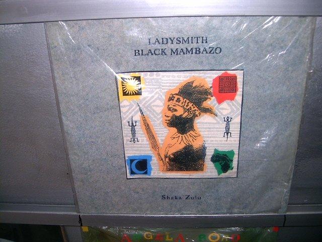 LADYSMITH BLACK MAMBAZO shaka zulu LP 1987 SOUL MUSIC SEMI-NOVO MUITO RARO VINIL
