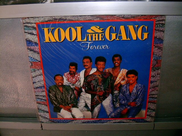 KOOL AND THE GANG forever LP 1986 SOUL MUSIC EXCELENTE MUITO RARO VINIL