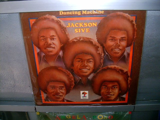 JACKSON FIVE dancing machine LP 1974 BLACK MUSIC EXCELENTE MUITO RARO VINIL
