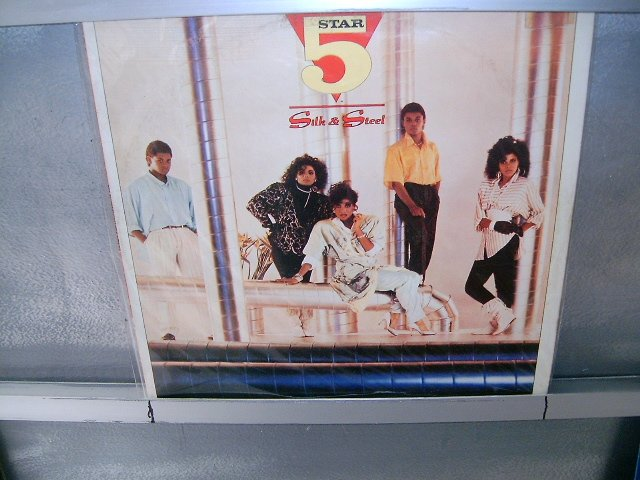 FIVE STAR silk & steel LP 1986 SOUL MUSIC MUITO RARO VINIL
