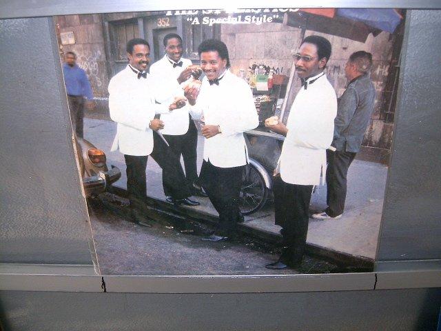 STYLISTICS  a special style LP 1986  SOUL MUSIC SEMI-NOVO MUITO RARO VINIL