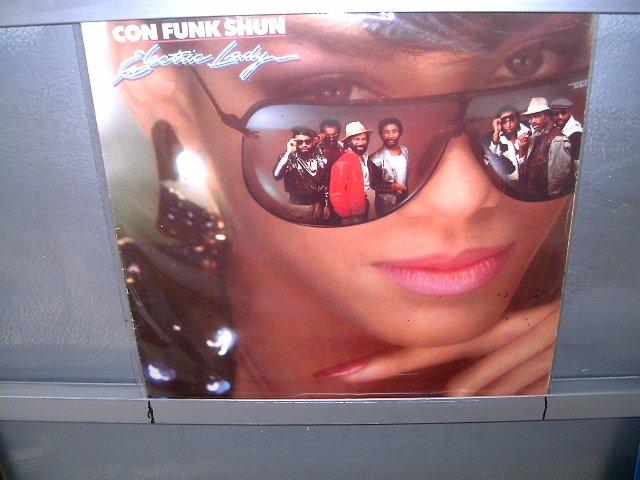 CON FUNK SHUN Electric Lady LP 1985 FUNK EXCELENTE MUITO RARO VINIL
