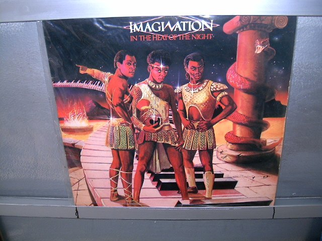 IMAGINATION in the heat of the night LP 1982 SOUL MUSIC MUITO RARO VINIL